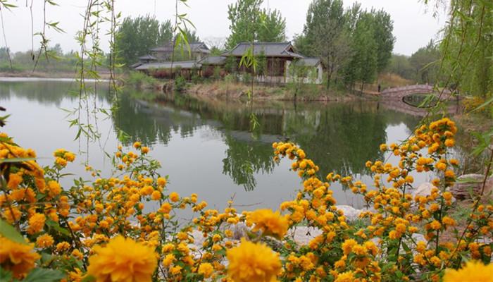 九龙涧自然风景区位于美丽的潍坊市坊子区
