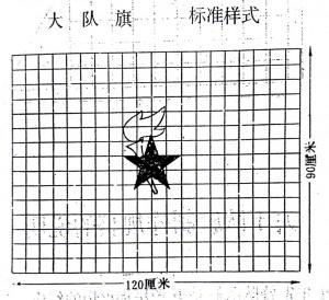 中国少年先锋队队旗